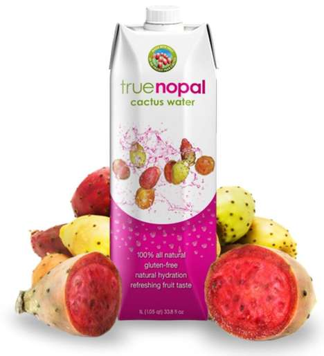 Exotic Cactus Waters - True Nopal's Healthy Beverage is Free From Artificial Additives