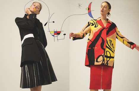 Abstract Fashion Editorials - L'Officiel Turkey's Latest Exclusive References the Modernism Movement