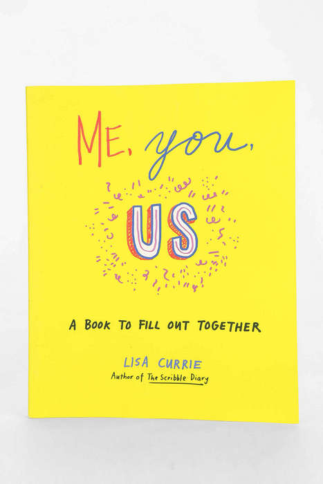 Collaborative Journal Books - 'Me, You, Us' is Meant to Be Filled Out with a Group of Friends