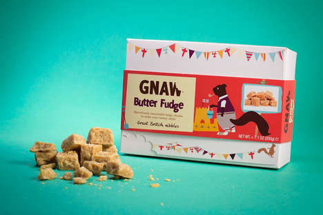 Squirrel-Branded Chocolates - The 'Gnaw' Chocolate Brand Uses a Cheeky Native Squirrel as Its Mascot