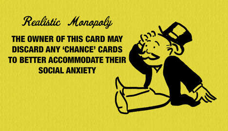 Brutally Honest Board Games - These Monopoly Cards Compare Game Scenarios to Real Life Challenges