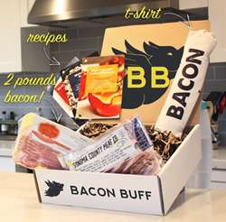 Bacon Subscription Services - The 'Bacon Buff' Provides Members with Monthly Artisanal Bacon Boxes