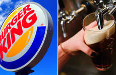Beer-Serving Burger Chains - Burger King Hopes to Serve Fast Food and Beer All Day in the UK