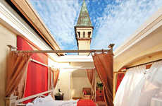 Open Air Hotel Rooms - This Hotel Suite Features a Retractable Roof That Opens Up to the Sky