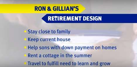 Reality Retirement Webisodes - RBC's 'Retirement Designers' Helps Boomers Plan Their Post-Work Life