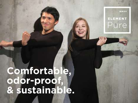 Odor-Proof Nanofiber Clothing - This Apparel Offers Sustainable Wood-Derived Tencel from Austria