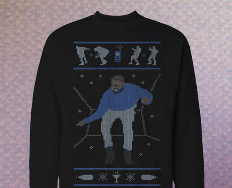 Rapper-Inspired Christmas Sweaters
