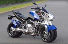 Four-Wheeler Motorbikes - The Yamaha OR2T Motorbike Concept Features Advanced Suspension Technology