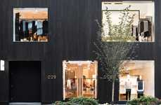 Charred Wood Boutique Facades - The New COS Flagship in Toronto Resides in Stylish Yorkville