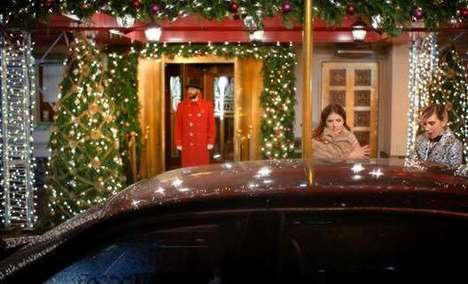 Car Heist Fashion Ads - This Kate Spade Holiday Collection Ad Shows Two Women Stealing a Cab