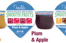 Meal-Replacing Purees - These Fruit Purees from FMR Makes a Portable Meal Supplement