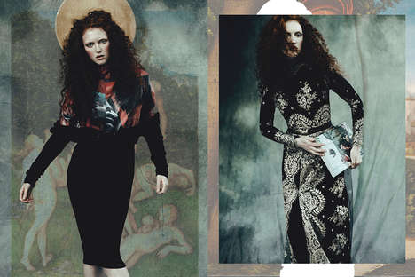 30 Examples of Bohemian Goth Fashion - From Gothic Foliage Accessories to Safari Punk Runways