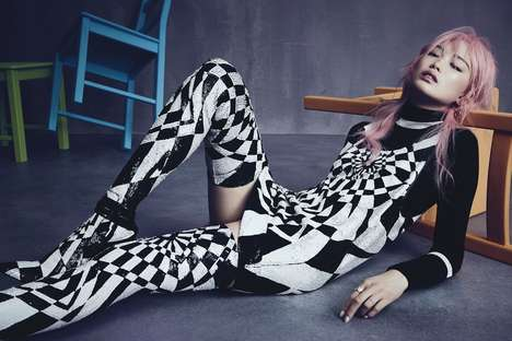 Contemporary MOD Editorials - Fernanda Ly Fronts Vogue Australia's Latest Fashion Exclusive