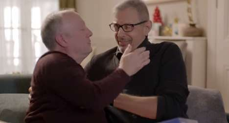 Acting Advice Christmas Ads - Jeff Goldblum Teaches People How to Pretend to Like Unwanted Gifts