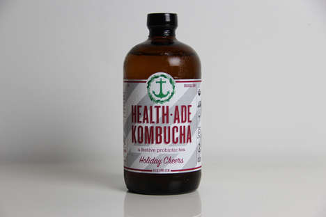 Probiotic Holiday Drinks - HEALTH-ADE's Holiday Beverages Boast Good Cheer and Health Benefits