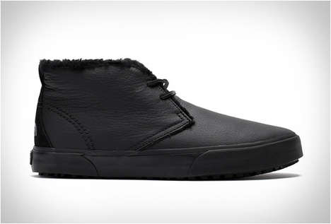 Heat-Retaining Sneaker Boots - The North Face & Vans Made This Water-Repellent 'Vault Desert Chukka'