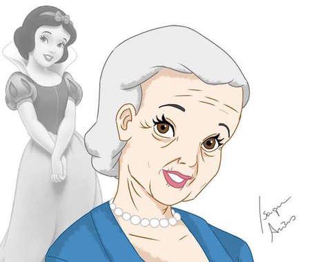 Aging Disney Princesses