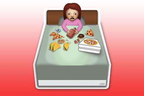 Conceptual Female Emojis - These Women Emoji Images Describe True Female Struggles
