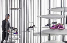 Fashion-Forward Steel Boutiques