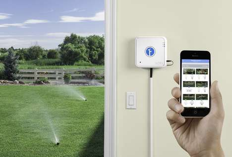 Eco-Friendly Garden Gadgets - The Rachio IRO Smart Irrigation Controller Lets You Optimize Watering
