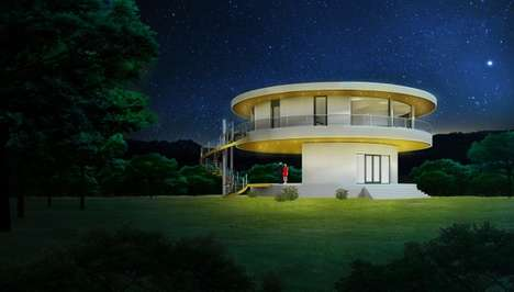 Revolving Sun Homes - This Sustainable Building Rotates to Follow the Direct Rays of the Sun