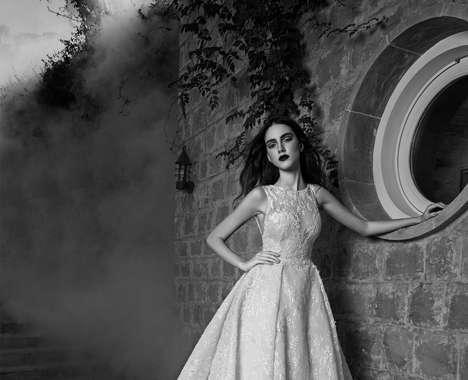Monochromatic Bridal Photos