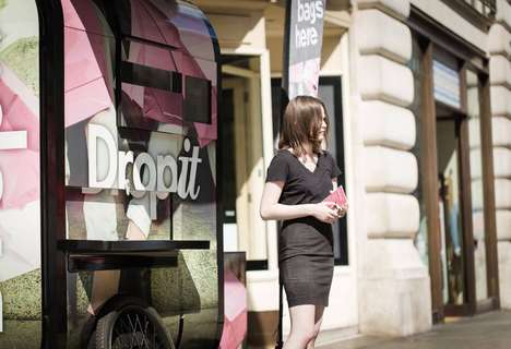 Bag-Free Shopping Services - DropIt Allows Users to Drop Their Bags for a Same-Day Delivery Service