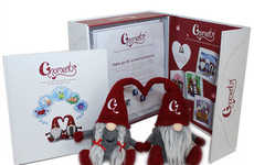 NFC-Enabled Gnome Toys - These Interactive Toys Reveal Secret Messages with NFC Technology