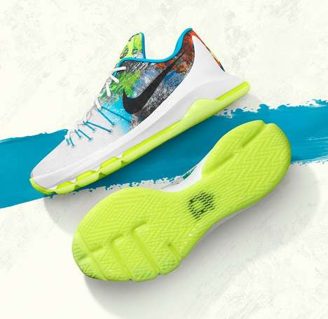 Tribal Sport Sneakers - The Nike KD 8 N7 Shoes Pay Tribute to Native American Art