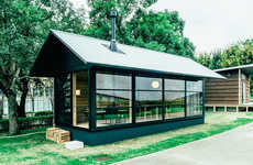 Minuscule Japanese Huts - The Muji Hut is an Oasis Founded in Antiquated Japanese Design
