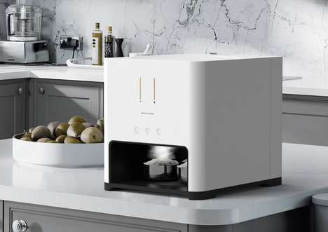 Automatic Rice Steamers - The Wash Rice Cooker by Seung Ho Choi is Designed to Craft Perfect Dishes