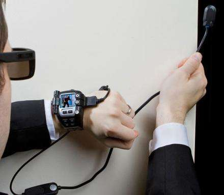 Video-Streaming Watches - The Spy Net Video Watch Allows You to Spy on Those Around You