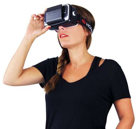 Smartphone VR Accessories - The Homido Virtual Reality Headset Uses Existing Technology for Easy VR