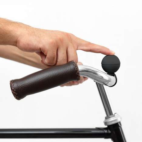 Magnetic Bike Bells - This Removable Bike Bell Comes with a Range Of Ringtones