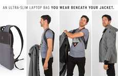 Covert Laptop Carriers - The Under-The-Jack Pack Hides Laptops for Added Security