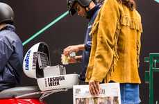 The Lavazza Crew and Vespa Dropped Off Free Coffee at LFW