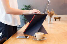 Foldable Mobile Desks