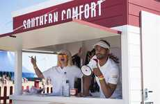 Golf-Inspired Liqueur Pop-Ups - This Mini Golf Southern Comfort Activation Was at Bestival 2015
