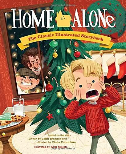 Christmas Movie Picture Books - Artist Kim David Recreates 'Home Alone' as a Christmas Picture Book