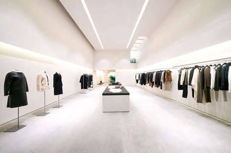 Whiteout Womenswear Boutiques - The Second Helmut Lang LA Store is the Brand's US Flagship