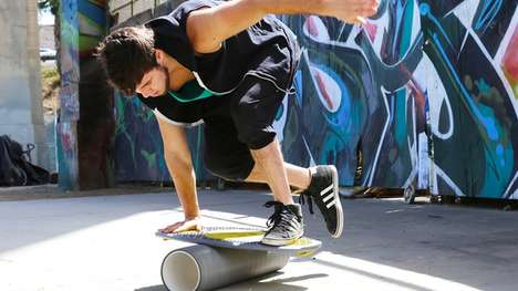 Modular Exercise Equipment - The MurfBoard Fitness System Keeps You Moving and Entertained