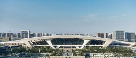 Versatile Transportation Hubs - The Hangzou East Railway Station Provides Many Transport Services