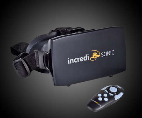 Remote Control Virtual Glasses - The IncrediSonic Smartphone VR Headset Offers Immersive Renderings