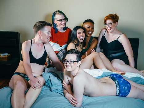 Trans-Inclusive Lingerie Lines - This Lookbook Includes Transgender Models & Non-Binary Individuals