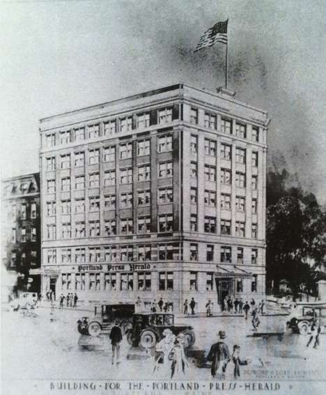 Newspaper Office Hotels - The Press Hotel Used to Be the Home to the Portland Press Herald Newspaper