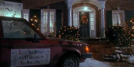 Movie-Inspired Pizza Deliveries - Uber Celebrated Home Alone's Birthday by Delivering 'Nero's Pizza'