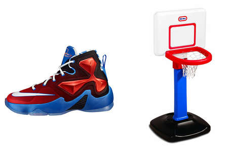Toy-Themed Basketball Shoes - The Nike Basketball Toy Collection is Inspired by NBA Stars' Childhood