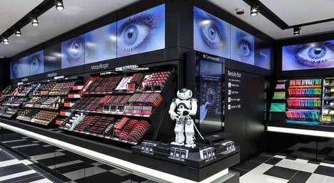 Robotic Beauty Shop Assistants - Sephora's Flash Store is a Revolution in Connected Shopping