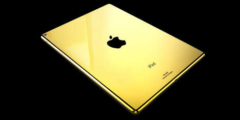 Precious Metal Smart Tablets - These Luxurious iPad Colors are Made from Different Precious Metals