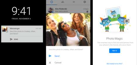 Facial-Recognizing Photo Messages - Facebook's Photo Magic Recognizes People & Sends Them the Photos